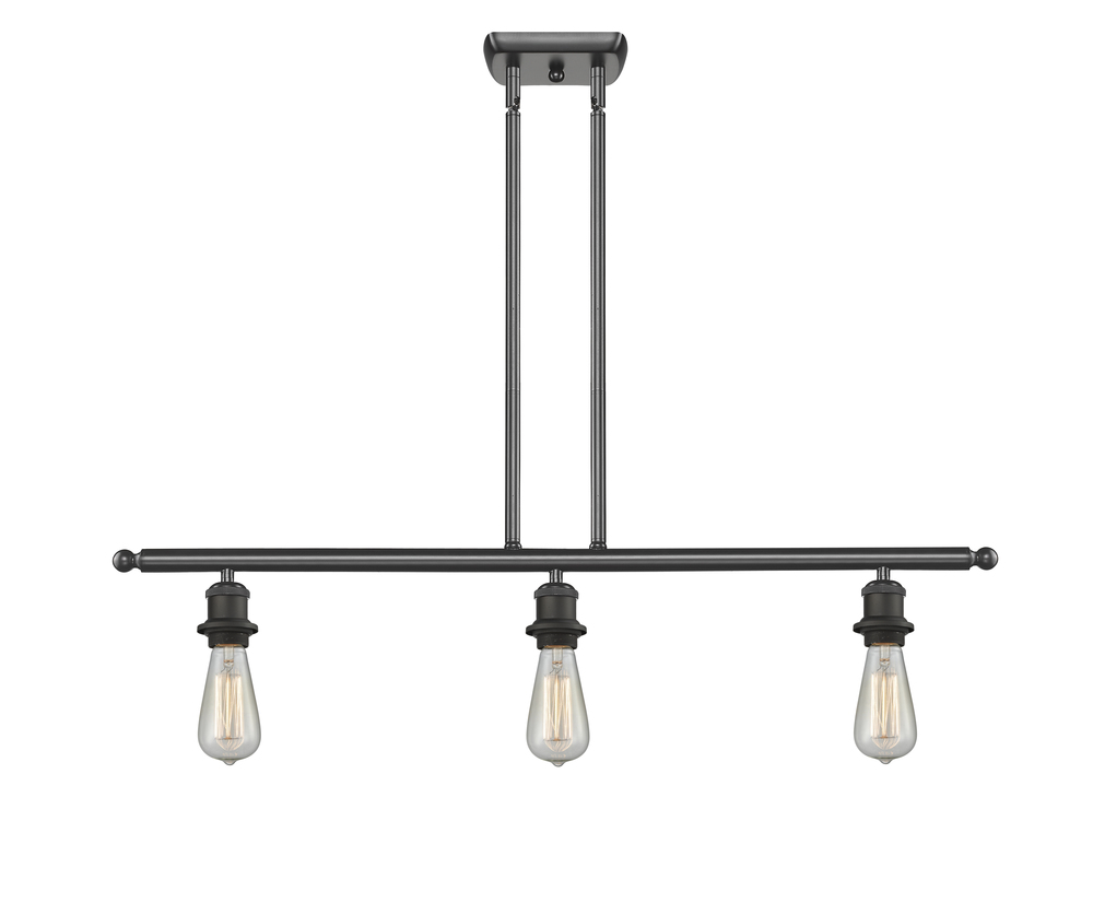 bare bulb lighting. 3 Light Bare Bulb 36 Inch Island Lighting