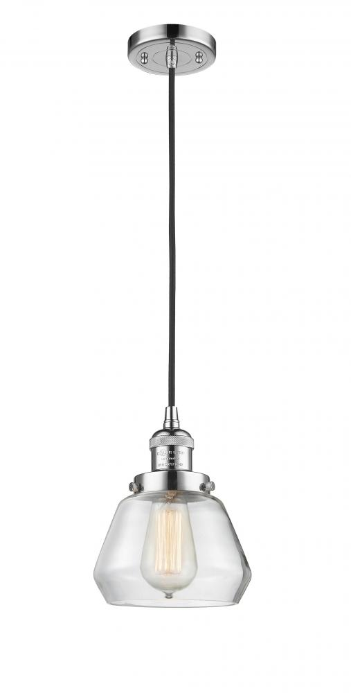 Polished Chrome Innovations 201C-PC-G172 1 Light Mini Pendant