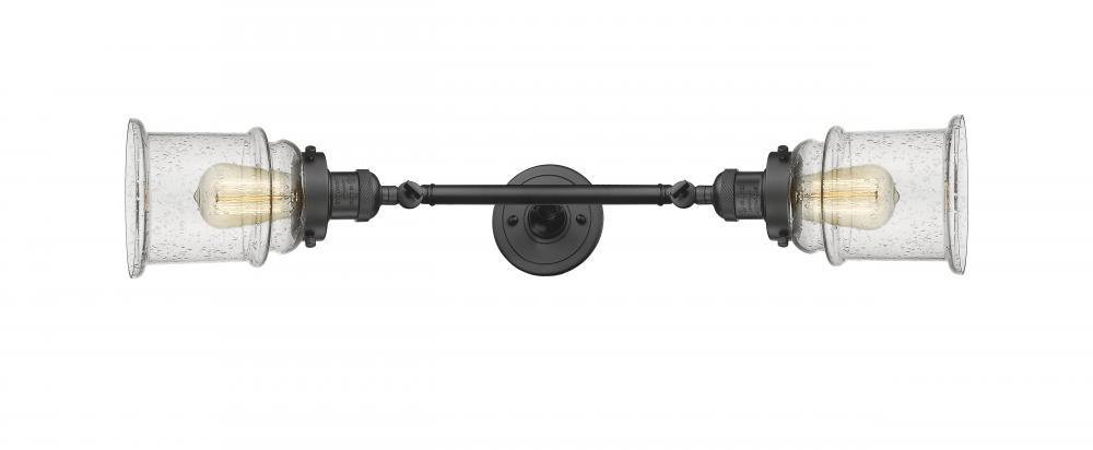 Innovations 208L-AB-G181-LED 2 Vertical Bath Vanity Light Antique Brass